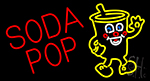 Red Soda Pop LED Neon Sign