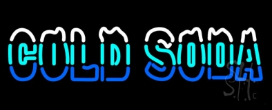 Cold Soda LED Neon Sign