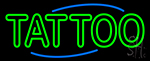 Round Tattoo LED Neon Sign