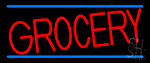 Simple Grocery LED Neon Sign