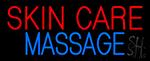 Skin Care Massage Hair LED Neon Sign