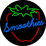 Smoothies Logo LED Neon Sign