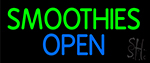 Smoothies Open LED Neon Sign