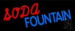 Soda Fountain LED Neon Sign