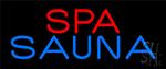 Spa And Sauna Neon Sign