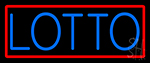 Stylish Lotto LED Neon Sign