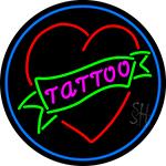 Tattoo Inside Heart LED Neon Sign