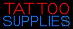 Tattoo Supplies Neon Sign
