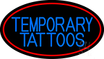 Temporary Tattoos LED Neon Sign