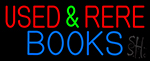 Used And Rare Books LED Neon Sign