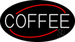 White Coffee LED Neon Sign