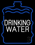 Drinking Water LED Neon Sign