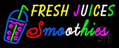 Fresh Juices Smoothies LED Neon Sign