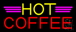 Yellow Hot Red Coffee LED Neon Sign