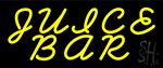 Yellow Juice Bar LED Neon Sign