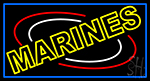 Yellow Marines LED Neon Sign