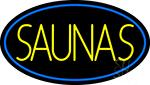 Yellow Saunas LED Neon Sign