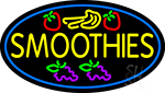 Yellow Smoothies LED Neon Sign