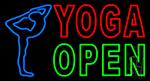 Yoga Open LED Neon Sign