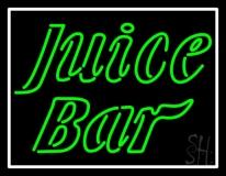 Green Juice Bar LED Neon Sign