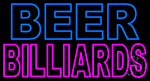 Beer Billiards Neon Sign