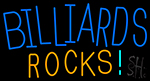 Billiards Rocks 1 Neon Sign