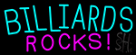 Billiards Rocks 2 Neon Sign