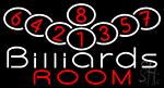 Billiards Room 1 Neon Sign
