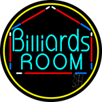 Billiards Room 3 Neon Sign
