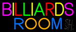 Billiards Room 5 Neon Sign