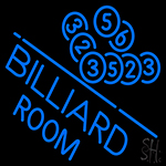 Billiards Room Neon Sign