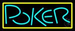 Block Poker 1 Neon Sign