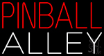 Pinball Alley 1 LED Neon Sign