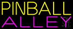 Pinball Alley 2 LED Neon Sign