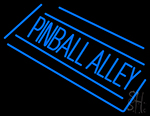 Pinball Alley LED Neon Sign