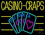 Casino Craps 1 Neon Sign