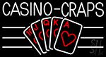 Casino Craps Neon Sign