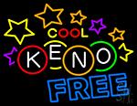 Cool Keno Free 3 LED Neon Sign