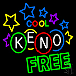 Cool Keno Free LED Neon Sign