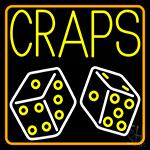 Craps With Dies Neon Sign