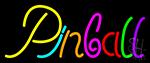 Cursive Letter Pinball 2 Neon Sign