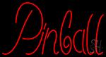 Cursive Letter Pinball Neon Sign