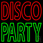 Disco Party 1 Neon Sign