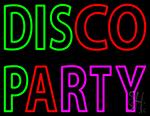 Disco Party Neon Sign