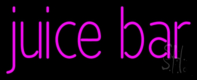 Pink Juice Bar LED Neon Sign