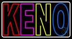 Double Storke Keno 2 LED Neon Sign