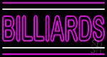 Double Stroke Billiards LED Neon Sign