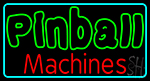 Double Stroke Pinball Machines 2 LED Neon Sign