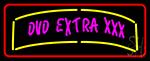 Dvd Extra Xxx 1 LED Neon Sign