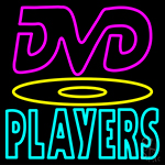 Dvd Players 1 Neon Sign